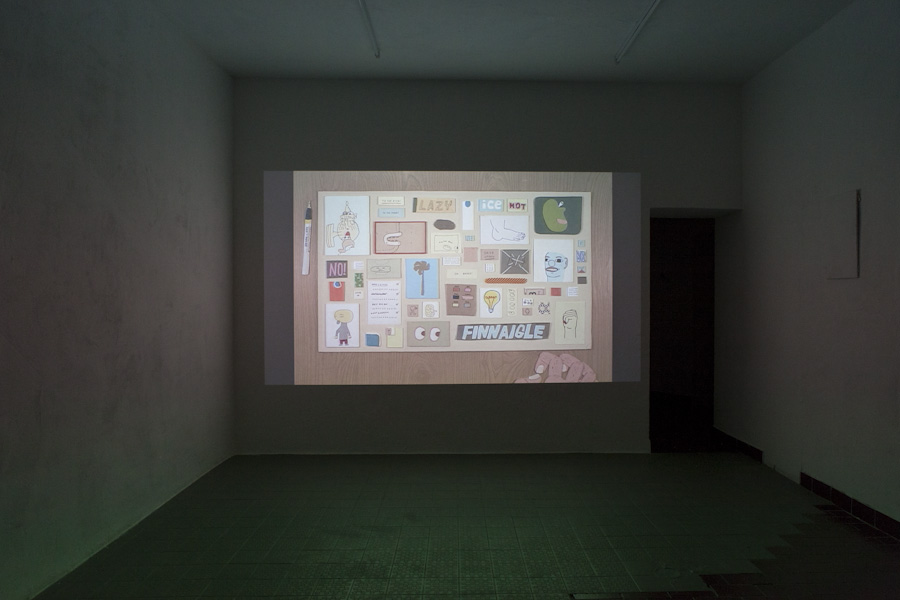 "<p style=""text-align: center;""><span style=""font-size: 8pt;"">Amy Lockhart, The Collagist (2:05 min, 2009), Kunst Film Fest #2, Part I: Animation, Centrum, Berlin 2016, Photo Ute Klein</span></p>
